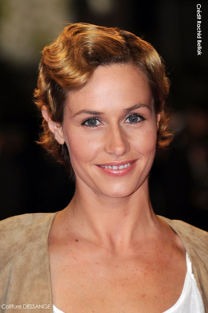 Coiffure de star au Festival de Cannes 2011 : les cheveux crantés de Cécile de France