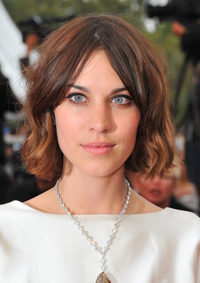 Maquillage de star au Festival de Cannes 2011 : l'eye-liner d'Alexa Chung