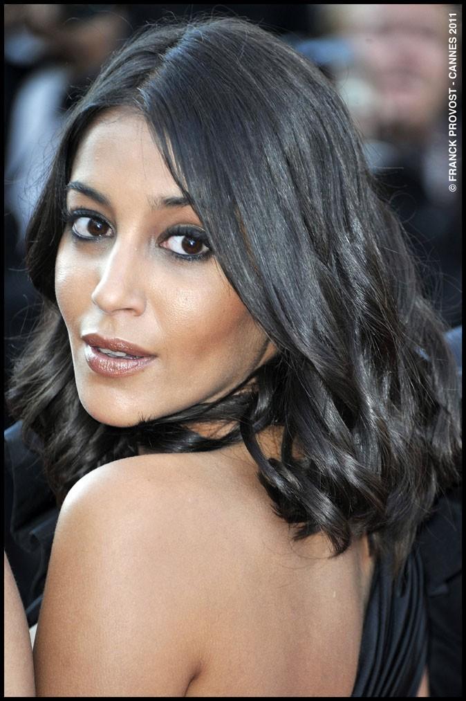 Maquillage de star au Festival de Cannes 2011 : le khôl noir sur les yeux de Leïla Bekhti