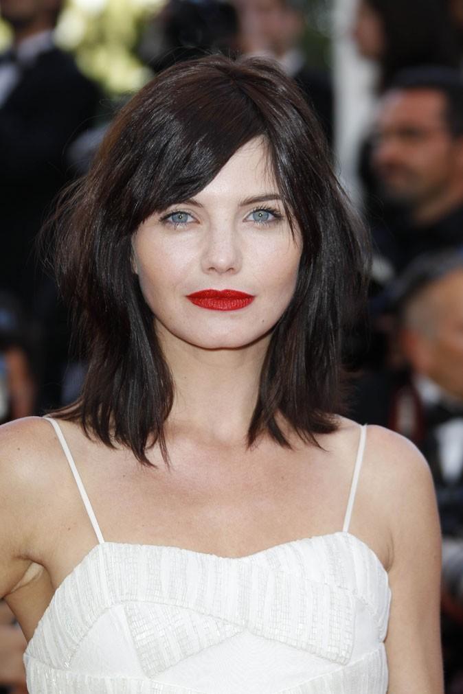 Maquillage de star au Festival de Cannes 2011 : le rouge à lèvres rouge de Delphine Chanéac