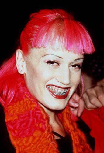Gwen Stefani et sa chevelure rose...