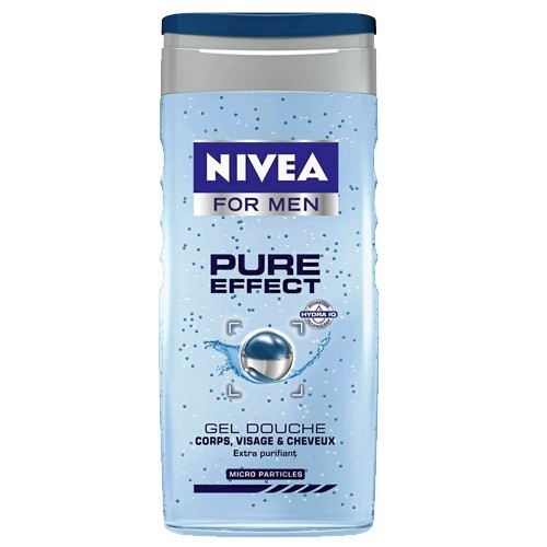Gel douche, Pure Effect, Nivea for Men 2,45 €