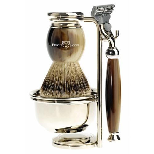 Set de rasage, Edwin Jagger sur comptoirdelhomme.com 270 €