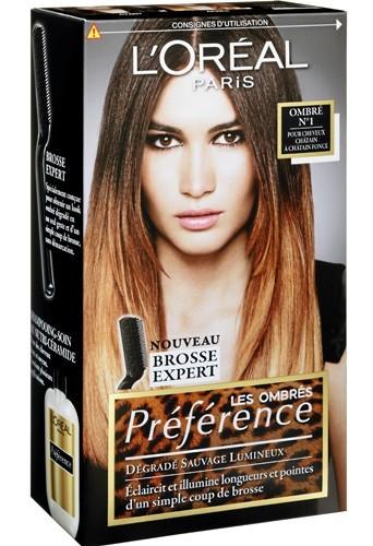 Les Ombrés Préférence, L'Oréal Paris 12 €