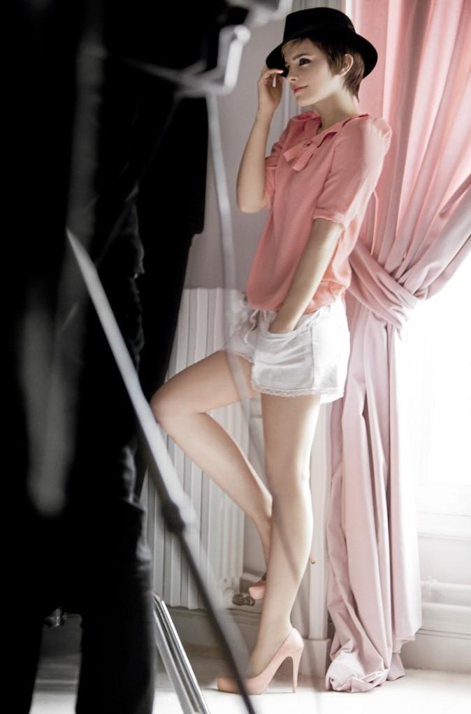 Emma Watson pour la campagne Rouge In Love de Lancôme