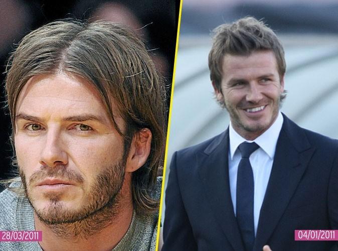 La coiffure tendance 2011 de David Beckham : il se la joue dans le vent !
