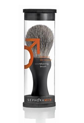 Secrets beauté des hommes : un blaireau Sephora pour une barbe de trois jours