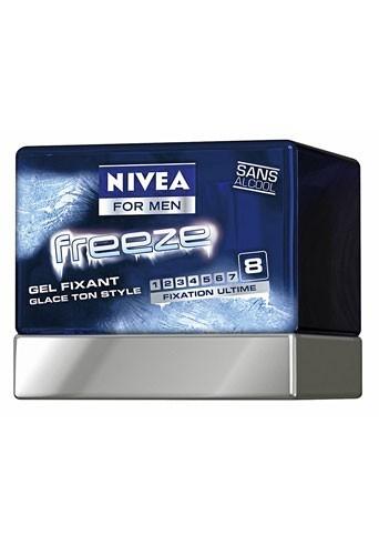 Secrets beauté des hommes : un gel Nivea pour des cheveux brillants