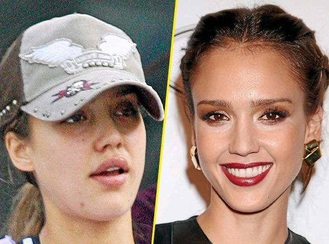 Star sans maquillage : Jessica Alba