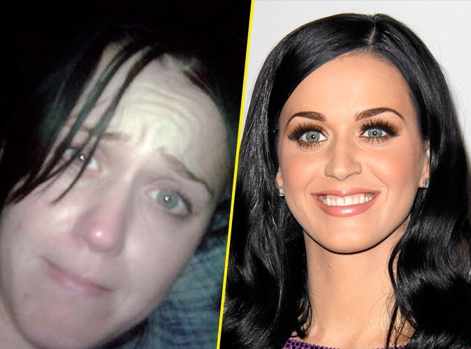 Star sans maquillage : Katy Perry