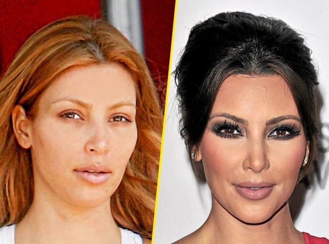 Star sans maquillage : Kim Kardashian