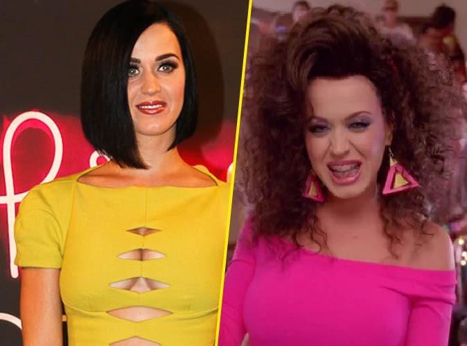 Katy Perry, mieux les cheveux lisses...