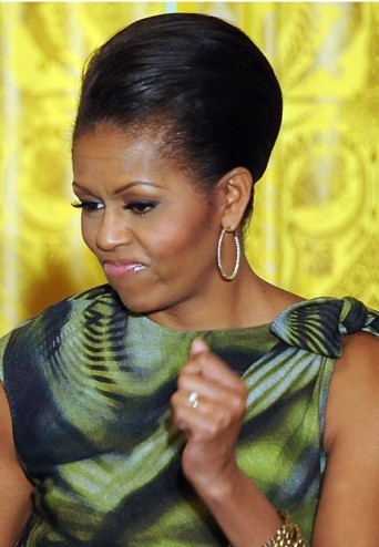 Michelle Obama très chic en mai 2011.
