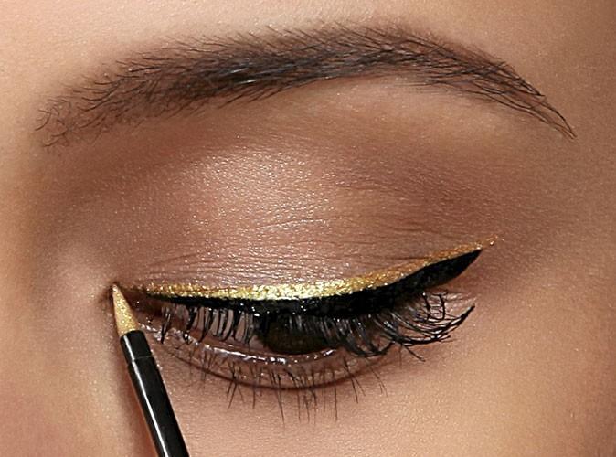 Etape 2 du mode d'emploi de l'eye-liner