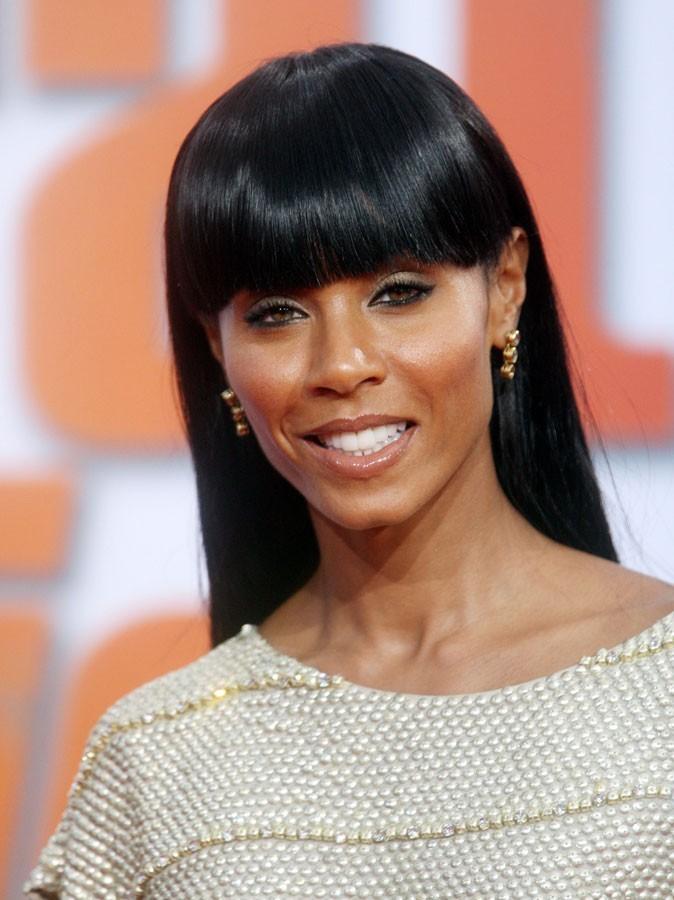 Maquillage été 2011 : Jada Pinkett Smith a choisi un gloss en accord avec sa peau mate