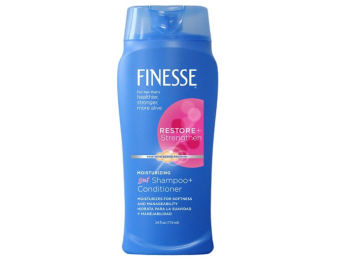 Shampooing & Après-shampooing 2en1 - Finesse - 3,50€.