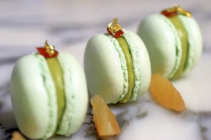 Macarons détox chic à l'hôtel Meurice 228, rue de Rivoli, Paris 1er.