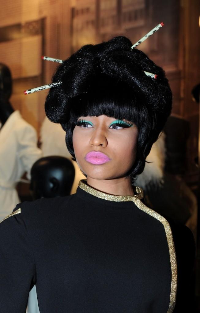 Nicki en geisha