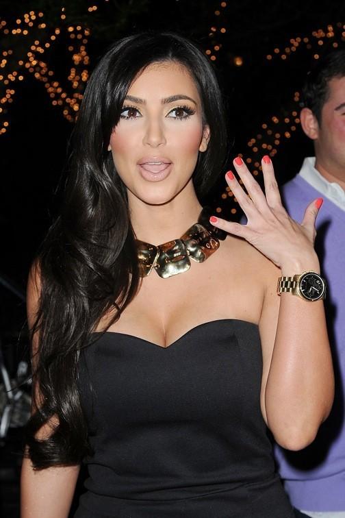 Kim Kardashian, red d'un soir !