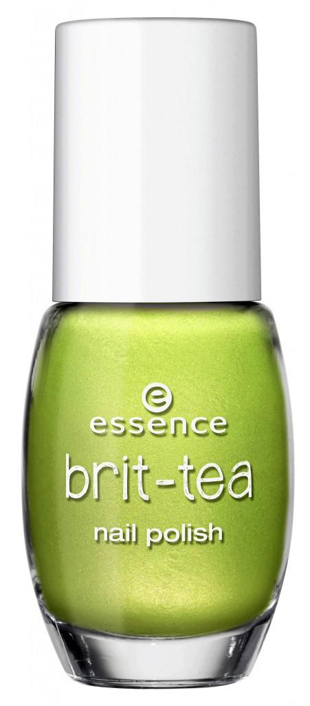 Bronzette à Phuket : Vernis à ongles Green Tea for Two, Brit-tea, Essence chez Auchan 2,29 €
