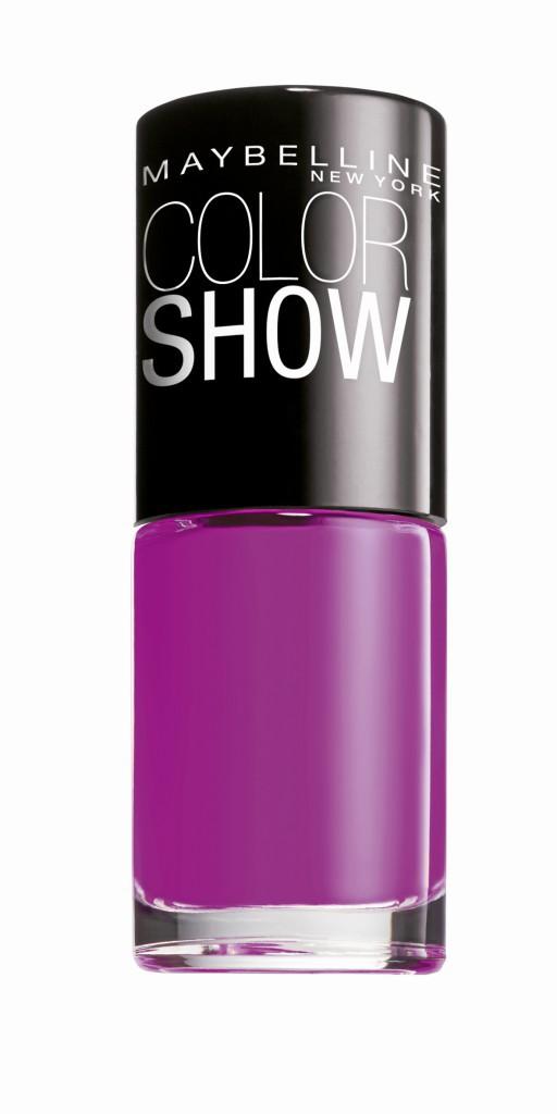 Fashionista à New York : Vernis à ongles Color Show, édition limitée Rebel Bouquet, Gemey-Maybelline