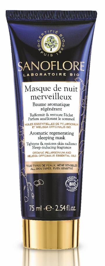 Masque de Nuit Merveilleux, Sanoflore. 20 €.