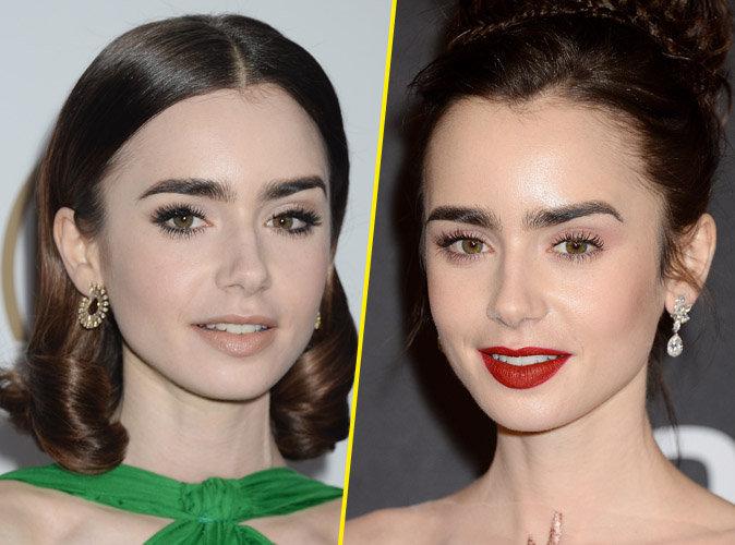 Beauté : Découvrez pourquoi Lily Collins est la nouvelle Cara Delevingne