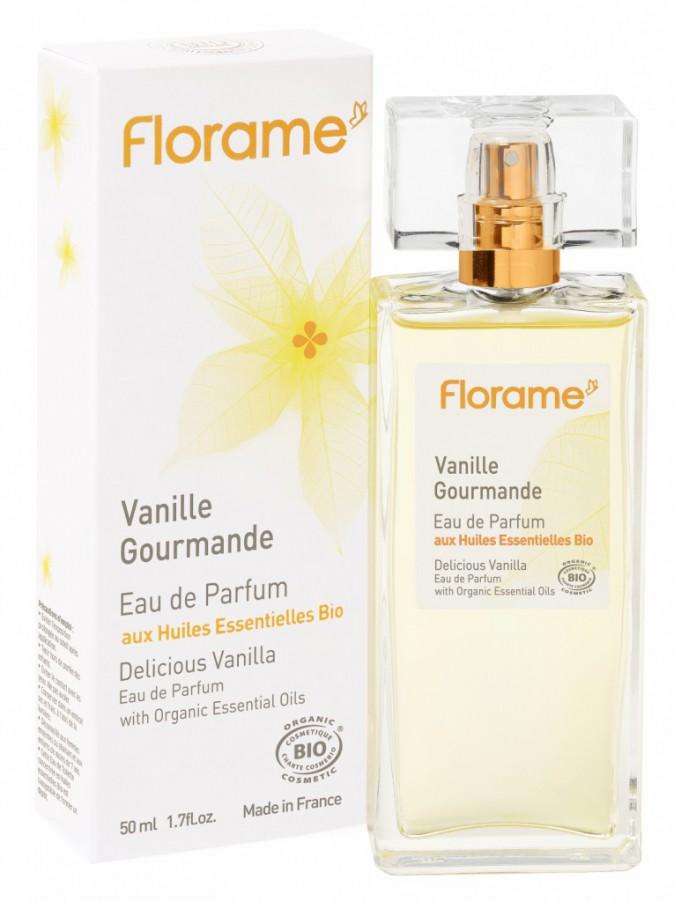 La nature au parfum : Eau de parfum Vanille gourmande, Florame 27,50€