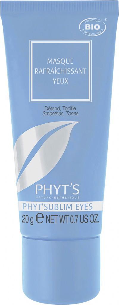 Un corps tout beau tout bio : Masque rafraîchissant yeux, Phyt'sublim Eyes, Phyt's 25 €