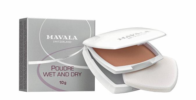 Les compacts : Poudre Wet & Dry, Mavala 35,40 €