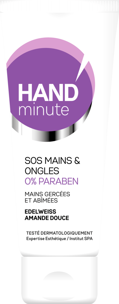 Crème SOS mains & ongles, Hand minute. 5,40 €