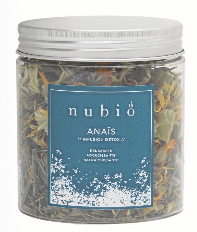 Infusion Détox Anaïs, Nubio. 12 €