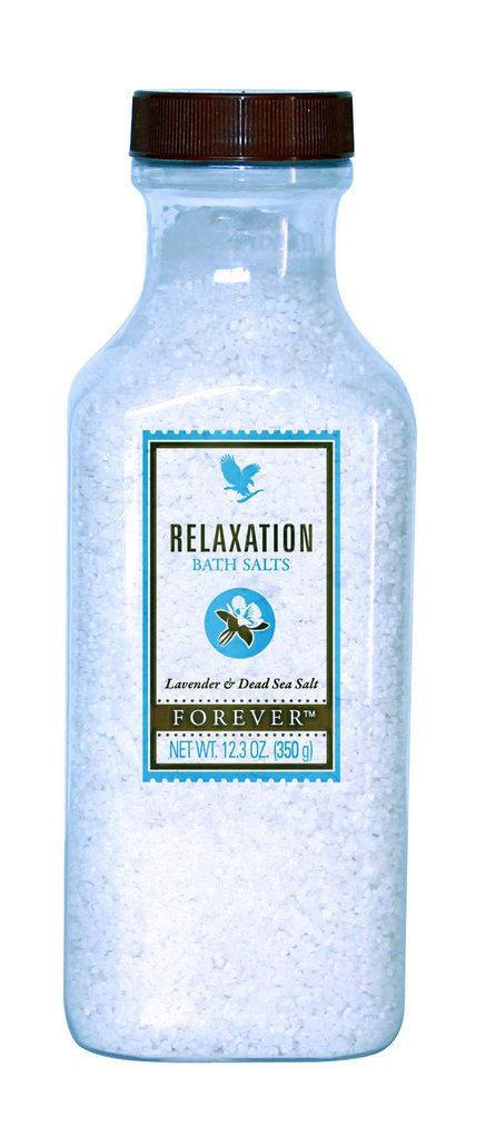 LE BAIN RELAXANT : Sels de bain relaxants, Forever Living. 29 €.