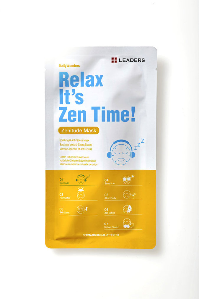 Masque Relax It's Zen Time !, Leaders chez Marionnaud. 5,90 €