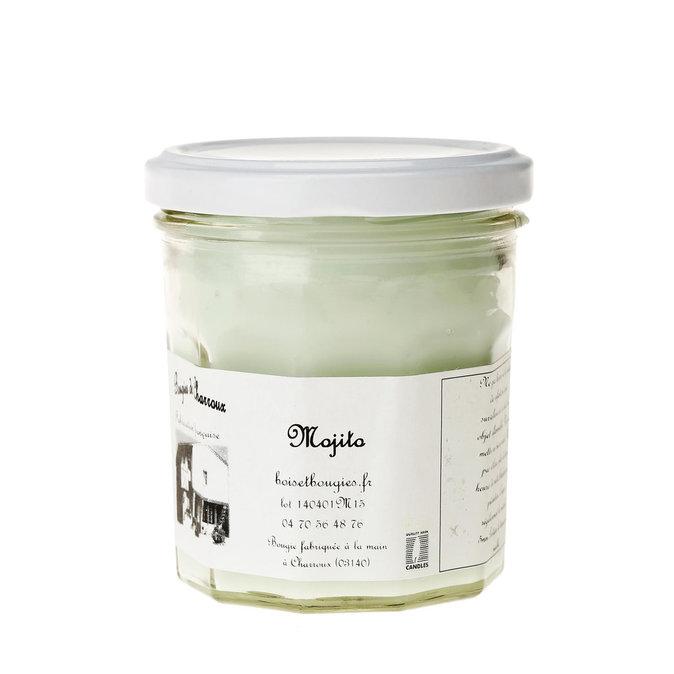 Bougie parfumée Mojito - Les bougies de Charroux : 8€