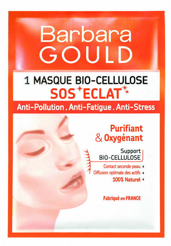 Masque Bio-Cellulose, Barbara Gould. 5,25 €.