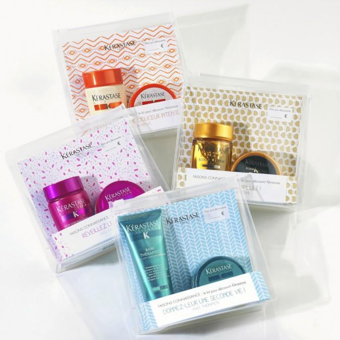 Le + cute : Trousse format cabine 1 bain + 1 masque, Kérastase , 20€