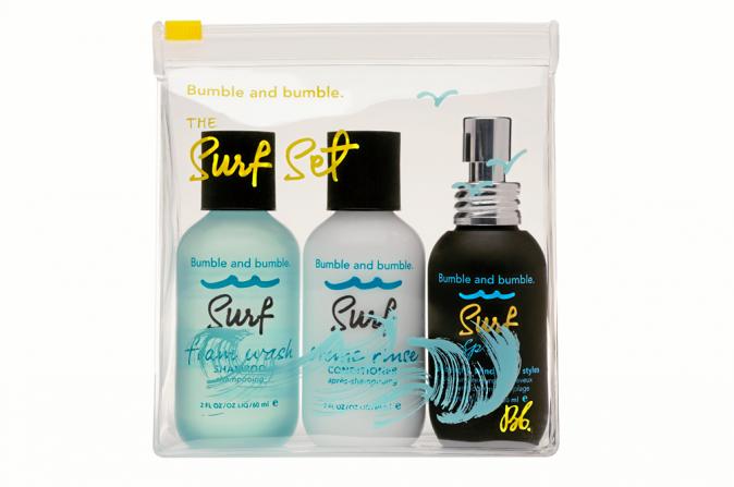 Le + surfeur : Soins pour les cheveux The Surf Set, Bumble and bumble. 39€