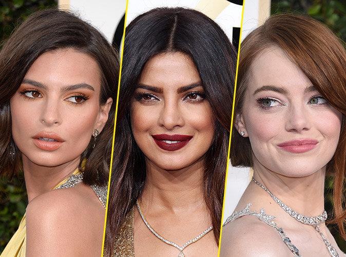 Photos : Golden Globes 2017 : Emily, Priyanka, Emma... toutes les plus belles mises en beauté de la cérémonie !