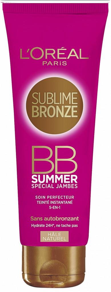 Je triche malin : BB Summer Spécial Jambes, L'Oréal Paris. 12,90 €.