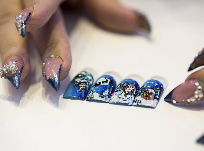 Photos : le Nail-Art régressif !