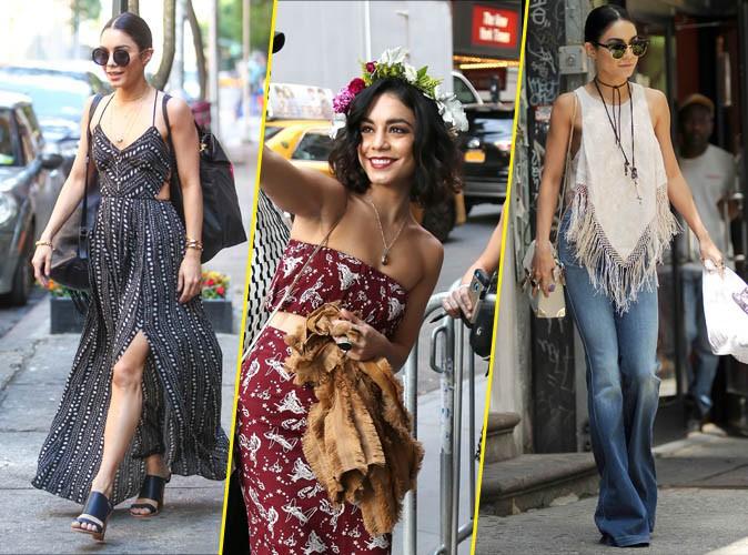Photos : Les 5 indispensables du look hippie de Vanessa Hudgens !