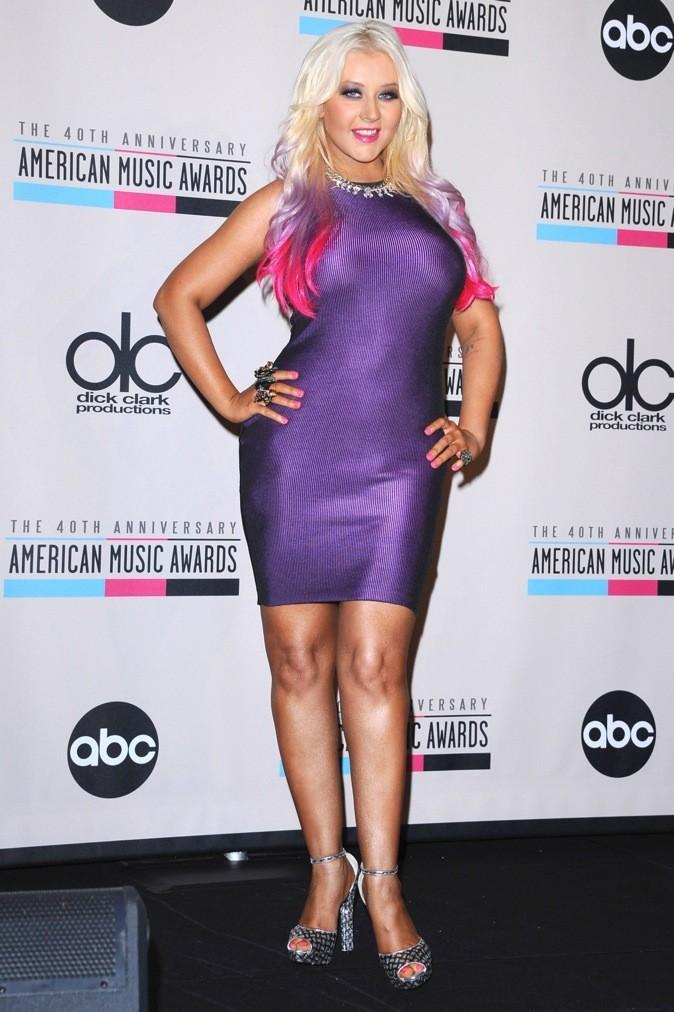 à Christina Aguilera !