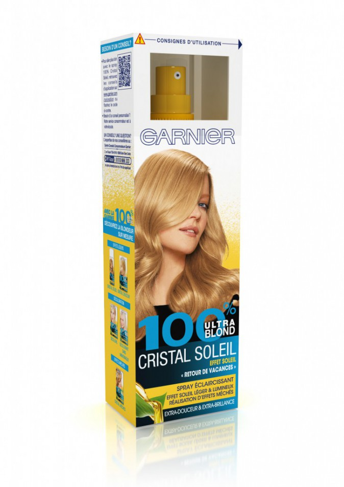 Spray Cristal Soleil 100 % Ultra Blond, Garnier 10,90 €
