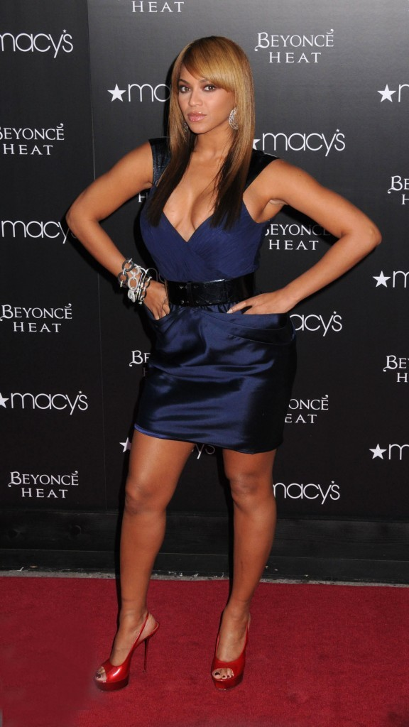 Beyoncé Knowles sur tapis rouge