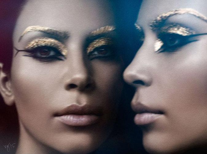 Kim Kardashian en Cléopâtre