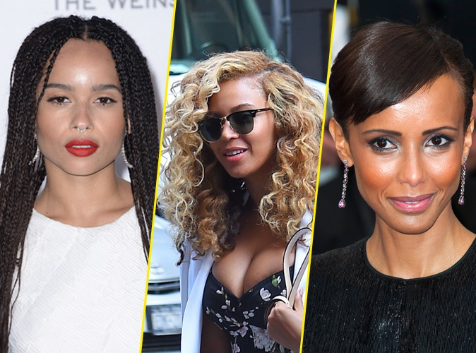 photos sp cial coiffure cheveux afro les 9 coiffures tendances des stars. Black Bedroom Furniture Sets. Home Design Ideas