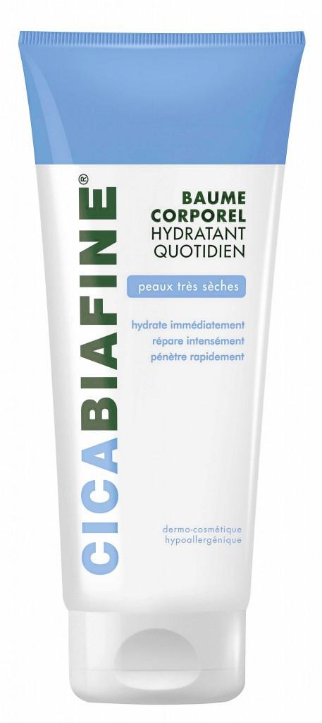 J'abuse des bains chauds (Baume hydratant corporel quotidien, Cicabiafne, Biafne 14,70 €)