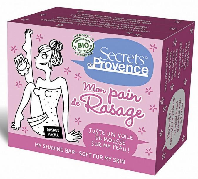 Je me rase tous les jours (Mon pain de rasage femme, Secrets de Provence chez Doux Good 6,50 €)