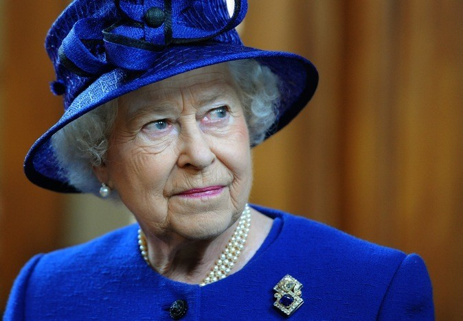 La Reine Elizabeth !